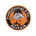 Gewebter Aufnäher der Fußballzwerge Rostock