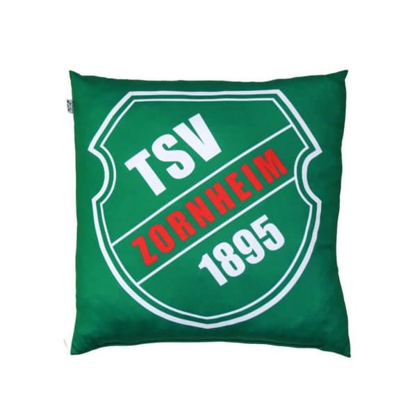 Bedrucktes Kissen des TSV Zornheim 1895