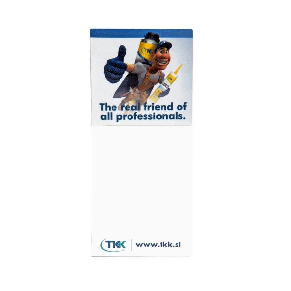 Kühlschrankmagnet in Offsetdruck mit Notizblock