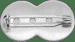 Pin aus Edelstahl mit Sicherheitsnadel