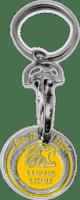 Schlüsselanhänger Leipzig Lions mit Einkaufswagenchip