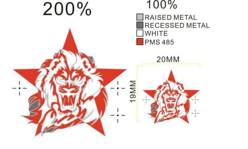 Beispiel eines Pin-Korrekturentwurfes