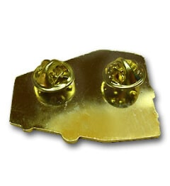 Pins mit doppelten Butterflyverschluss