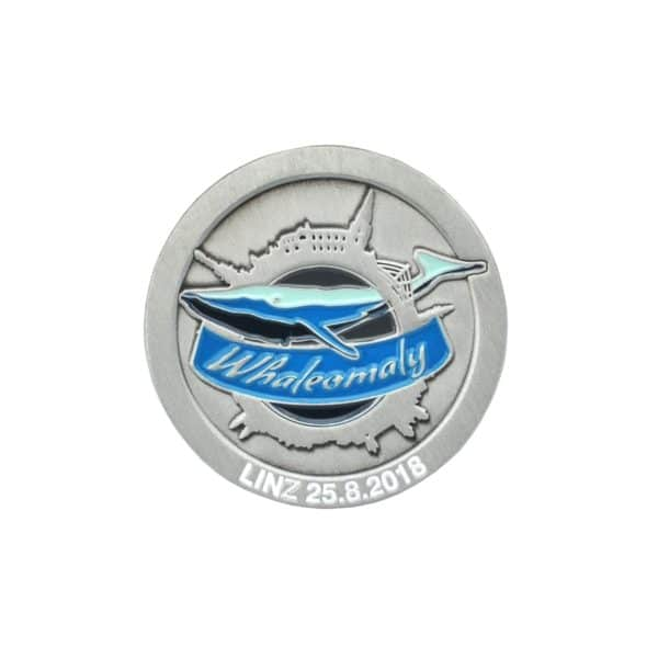 Medaille Whaleomaly in Softemaille - Vorderseite
