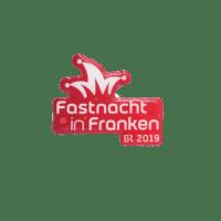 Pins Fastnacht in Franken 2019 des Bayerischen Rundfunks, Offsetdruck
