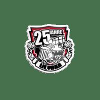 Pins 25 Jahre Ultras Nürnberg in Siebdruck
