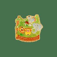 Pins der Karnevalsabteilung der Spvgg. Dietersheim, Softemaille und vergoldet