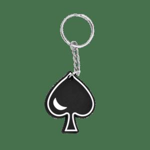 Schlüsselanhänger Pik As aus PVC