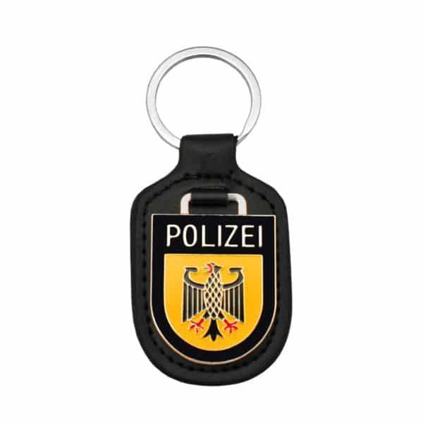 Verbandsabzeichen der Polizei in Softemaille