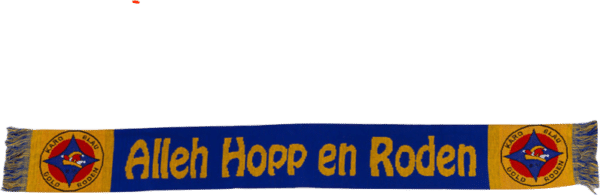 Karnevalsschal Allez Hopp en Rhoden