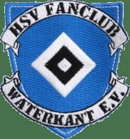 Gestickter Aufnäher HSV Fanclub Waterkant