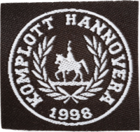 Etikett Komplott Hannovera 1998