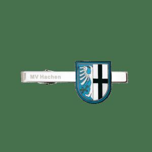Krawattenklammer MV Hachen - Softemaille mit Lasergravur