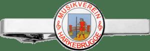 Krawattenklammern Musikverein Harkebrügge im Offsetdruck