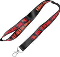 Lanyards der IG Metall mit Sublimationsdruck