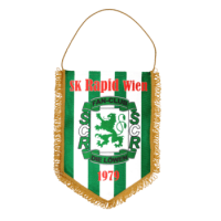 Bedruckter Wimpel Löwen Rapid