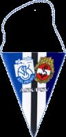 Bedruckter Wimpel ASK/PSV Salzburg