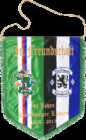 Bestickter Wimpel Hamburg & Rapid