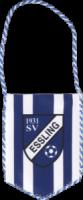 Gedruckter Autowimpel des SV Essling