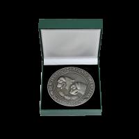 Medaille Jagdhundfreunde Erfttal in Antiksilber