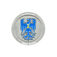 Medaille Resistance Austria in Softemaille