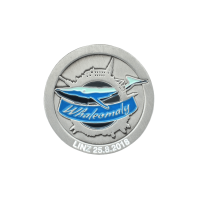 Medaille Whaleomaly in Softemaille