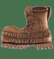 Wandernadel Murau Kreischberg in Metallguss