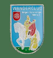 Wandernadel des Wanderclubs Bingen/Sprendlingen in Softemaille