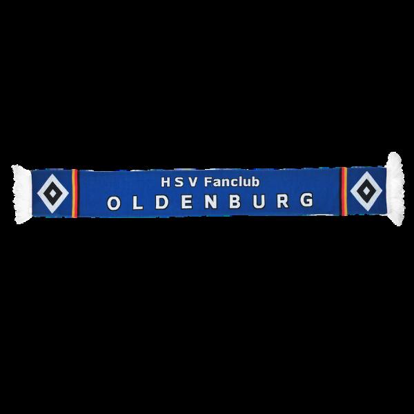 HD-Schal HSV Fanclub Oldenburg