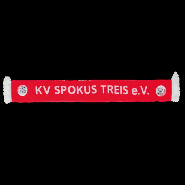 Bestickter Jacquardschal KV Spokus Treis e.V.