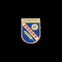 Pin Samtgemeinde Baddeckenstedt, Siebdruck auf Messing